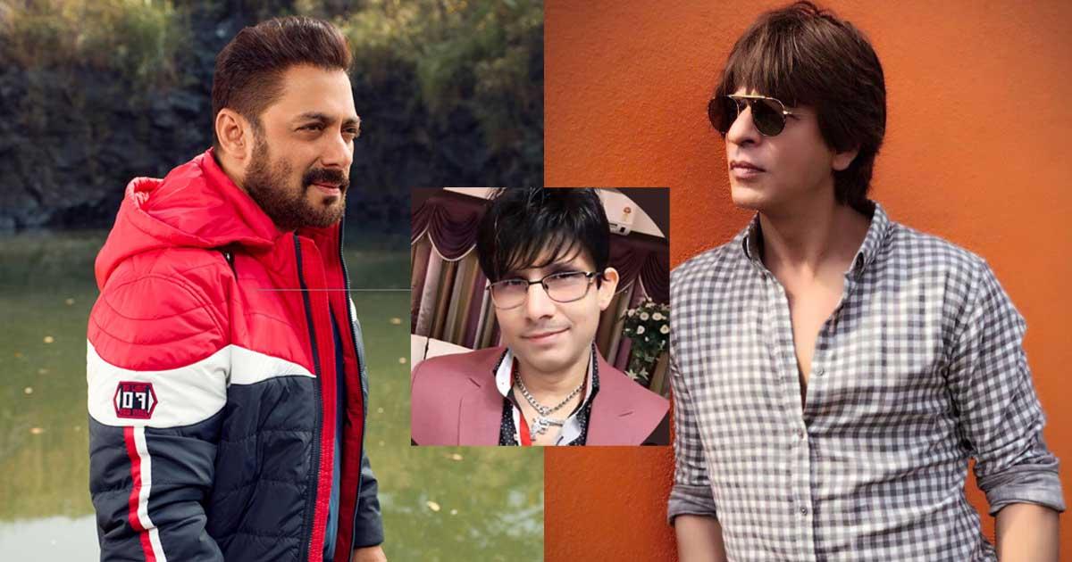 KRK Drags Shah Rukh Khan In War With Salman Khan