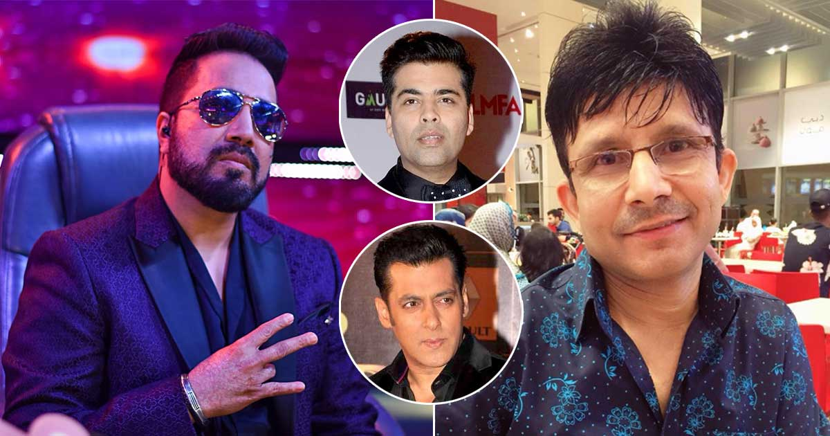 "Kamaal R Khan filters Mika Singh's Audio Message: ""Na Main Salman Khan Hoon, Na Karan Johar …"""