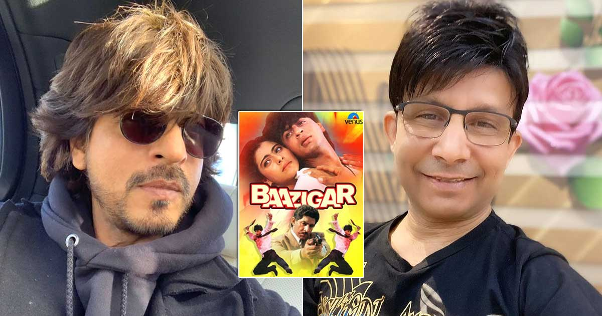 "When KRK Shared How Shah Rukh Khan Agreed To Do Baazigar Only On This Condition & Said, ""Ek Paagal Sa Ladka Aaya Hai…"""