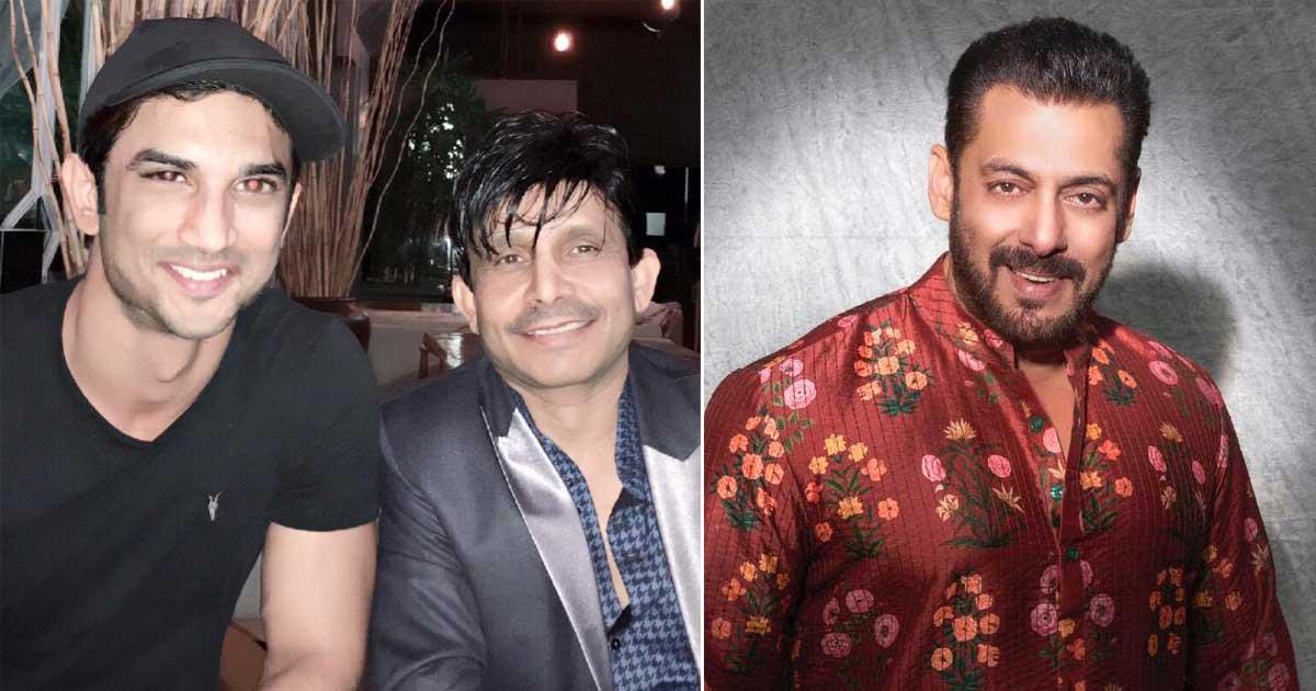 """KRK's Message For Salman Khan On Sushant Singh Rajput Death Anniversary: """"Is Ek Saal Me Tu Bhi Flop Ho Gaya"""""""