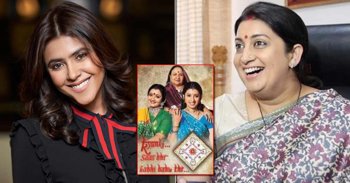 Smriti Irani Recalls Ekta Kapoor Keeping A Medical Team On Stand By While She Was Pregnant & Shooting The Daily