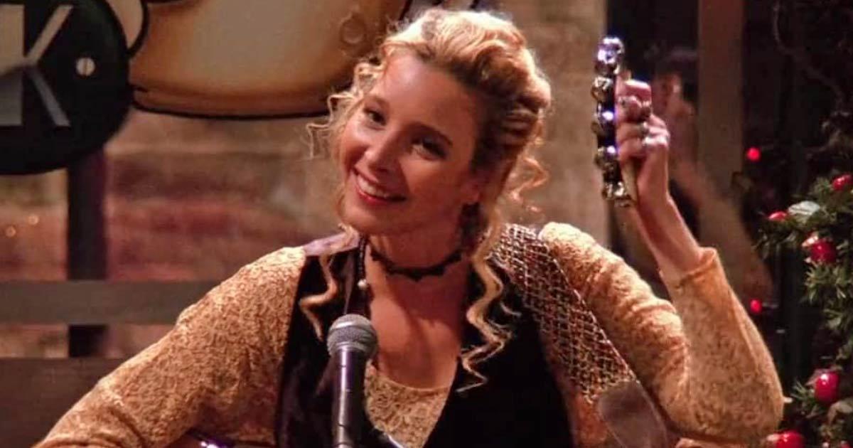 Lisa Kudrow As Phoebe Buffay In Friends