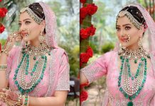 Madalsa Sharma wore a 10-kilo lehenga for wedding scene in 'Anupamaa'