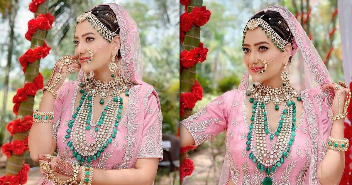 Madalsa Sharma Wore A 10-Kilos Lehenga For Wedding…