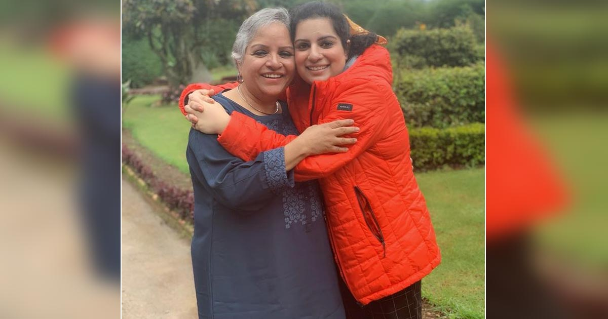 Mallika Dua pens note for mother after immersing her ashes