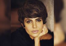 Mandira Bedi dazzles in black and white