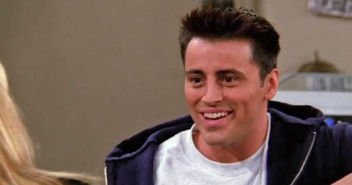 Matt Leblanc As Joey Tribbiani In Friends