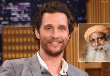 Matthew McConaughey To Converse With Sadhguru About Karma, Crafting One's Destiny & More