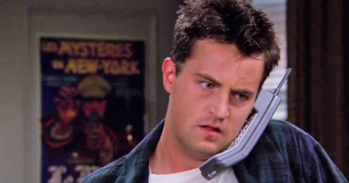 Matthew Perry As Chandler Bing In Friends