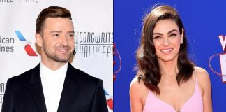 Mila Kunis Slept During A S*x Scene With Justin Timberlake & Was Uncomfortable Shooting In Front Of 150 Crewmen