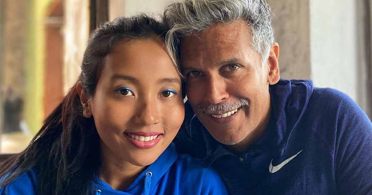 Milind Soman's Wife Ankita Konwar Hits Back At Troll Who Questions Her For Marrying An Older Man