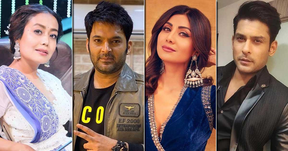 Neha Kakkar, Kapil Sharma, Sidharth Shukla To Shilpa Shetty - Guess The Highest-Paid Celebrity On Television? Deets Inside