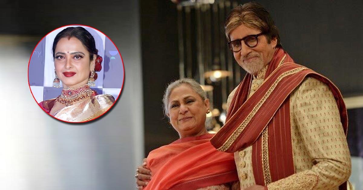 On Amitabh Bachchan & Jaya Bachchan's Wedding Anniversary, Rekha Memes Ft. Hera Pheri, Munna Bhai Break The Internet