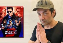On the occasion of the third anniversary of Race 3, Bobby Deol expresses his gratitude for all the love he has received!