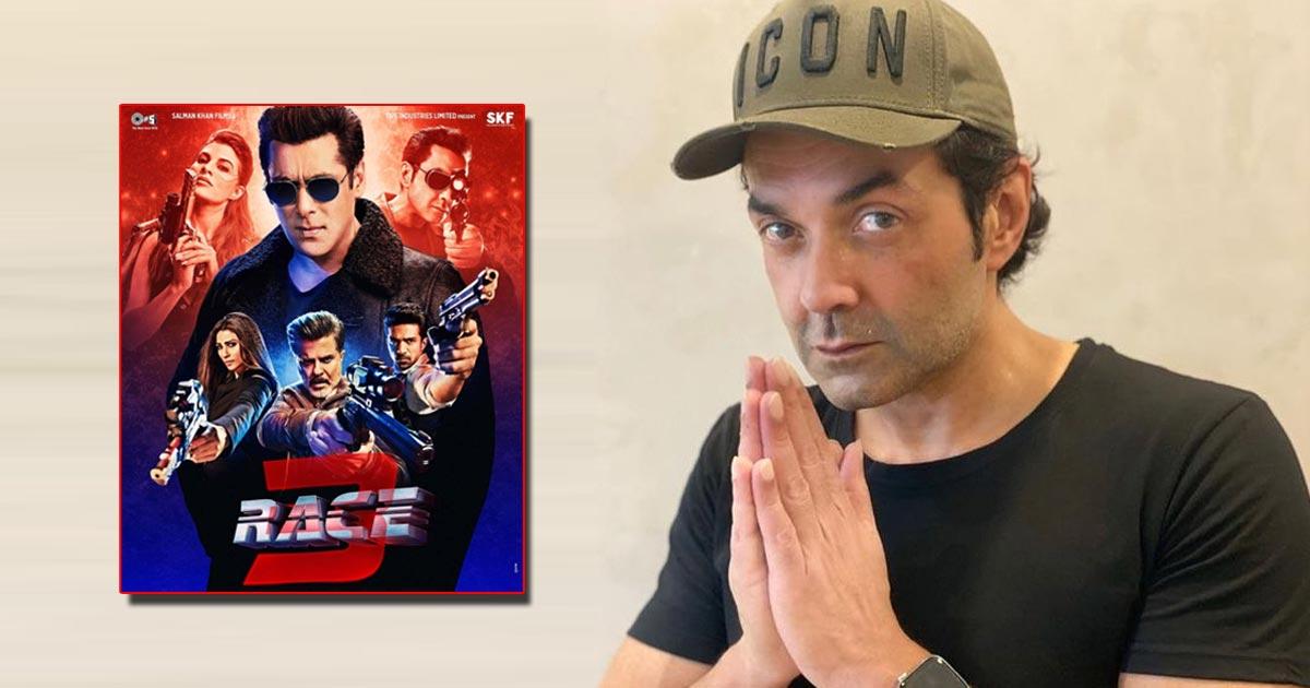 Bobby Deol Recalls His Comeback In Salman Khan's Race 3 As The Film Clocks 3 Years