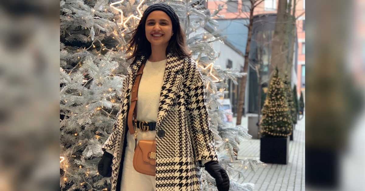 Parineeti Chopra engages in heavylifting for now