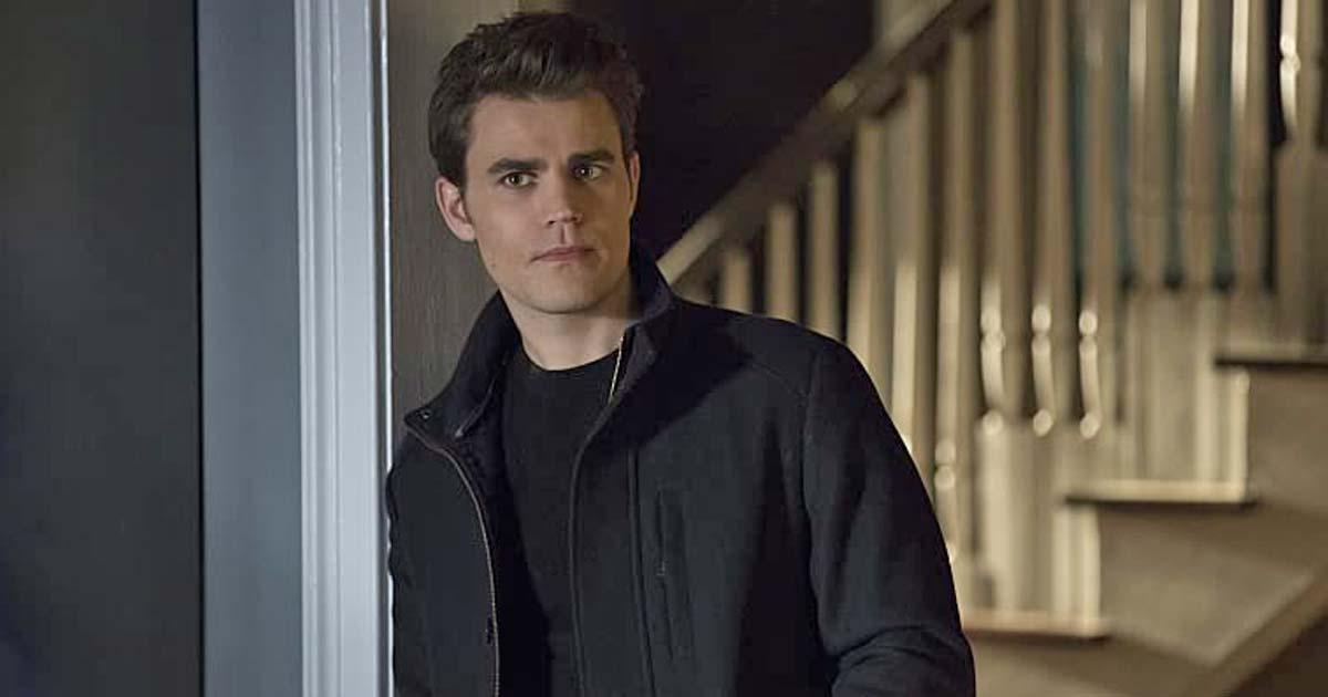Paul Wesley As Stefan Salvatore In The Vampire Diaries