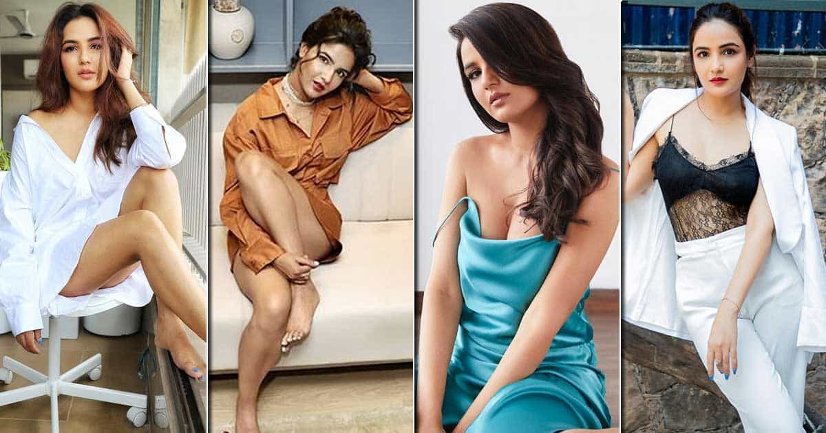 Plunging Necklines To Short Dresses & Only T-Shirts, Jasmin Bhasin Has Rocked These Bold & Hot Looks Like A Pro