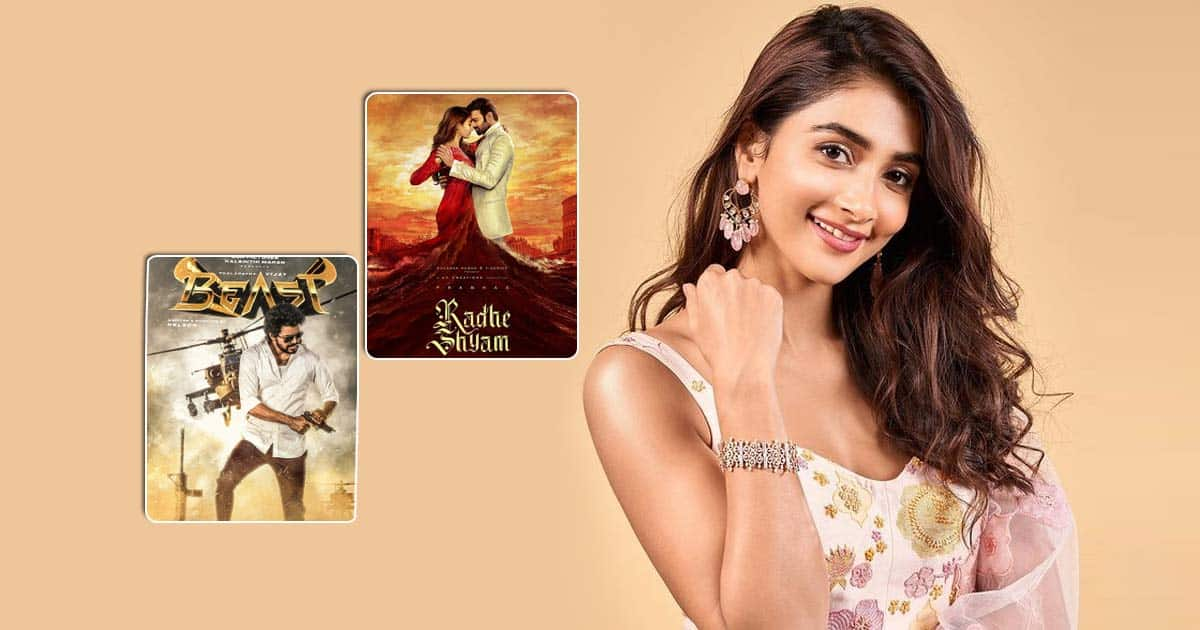 Pooja Hegde juggles between films, preps for Beast and shoots for Radhe Shyam!