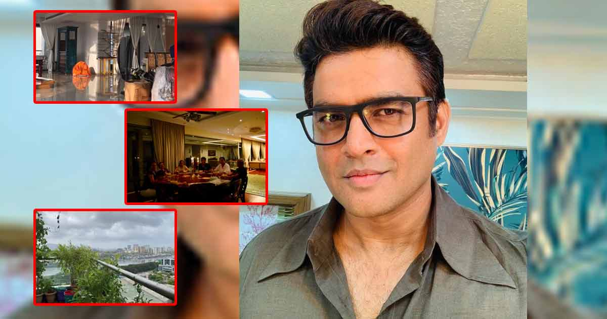 R Madhavan's Mumbai Home Is A Perfect Blend Of Contemporary & Traditional Work With Loads Of Greenery