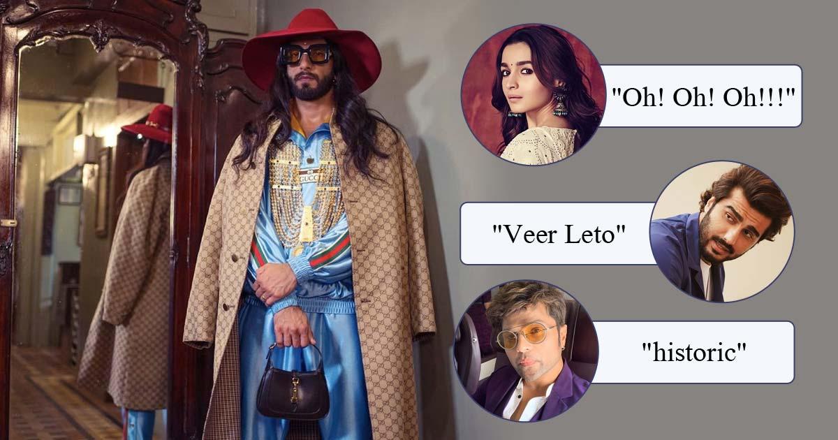 Ranveer Singh Called 'Veer Leto' By Arjun Kapoor As He Channelises His Inner Alessandro Michele, Read On