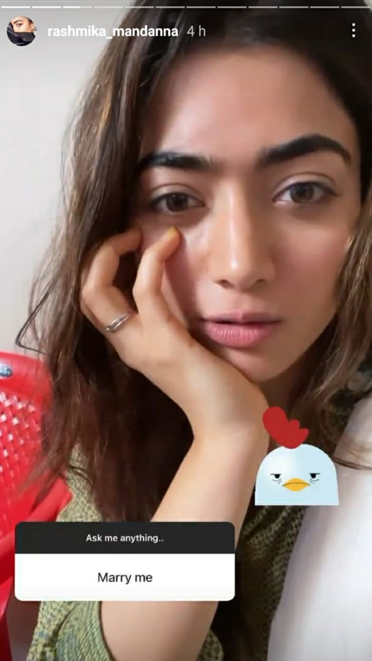 Rashmika Mandanna Gives A Hilarious Response To A Fan Who Asked Her To Marry Him