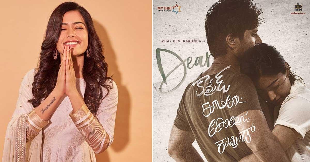 "Rashmika Mandanna On Dear Comrade Hindi Dub Version Crossing 250 Million On YouTube: ""I Think It Deserves It"" Read On"