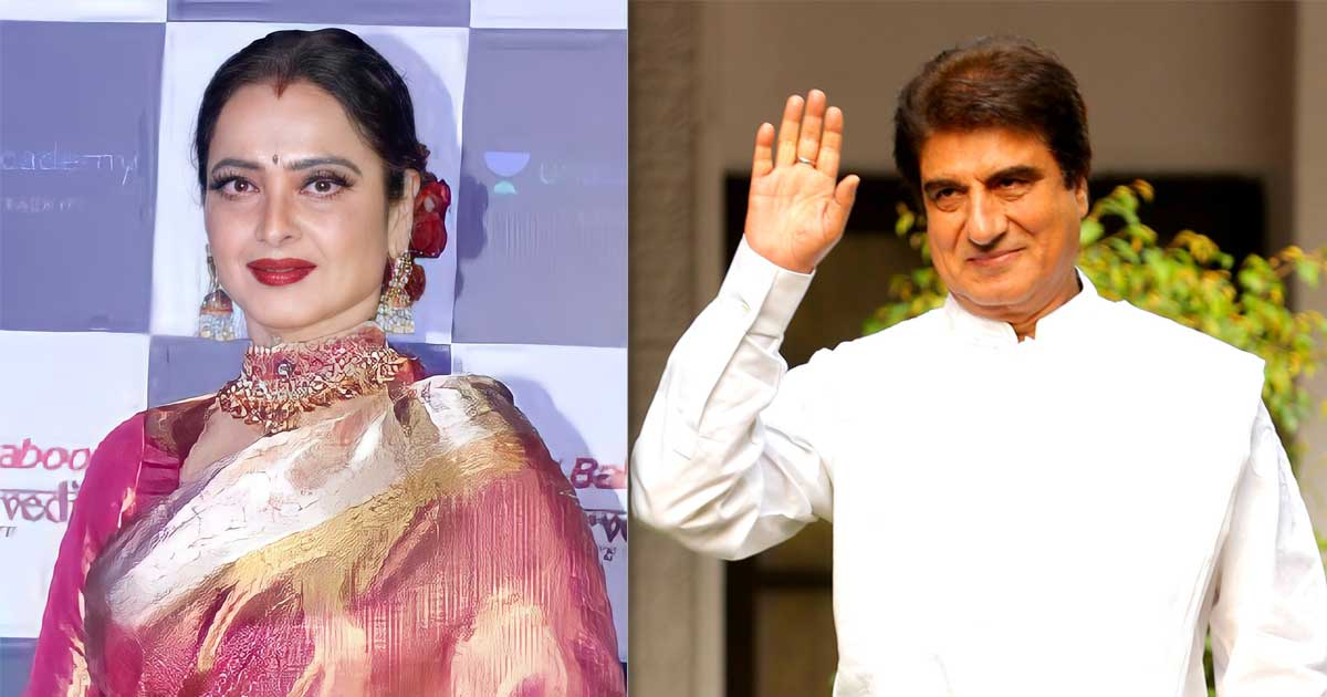 Did You Know? Rekha Once Ran Across The Street Of Mumbai Barefoot After Breaking Up With Raj Babbar