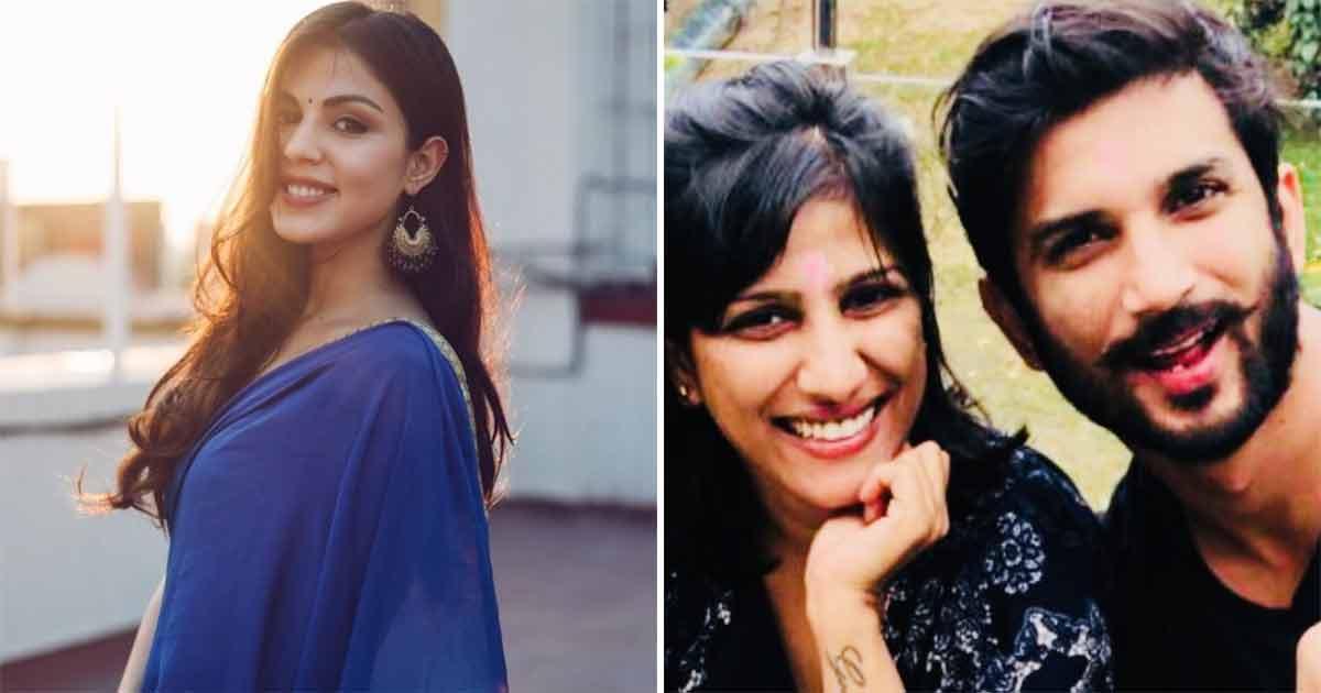 Rhea Chakraborty Blames Sushant Singh Rajput's Family For His Condition