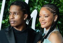 Rihanna Goes Braless In A Pink Figure Hugging Dress With Beau A$AP Rocky, Pics Goes Viral