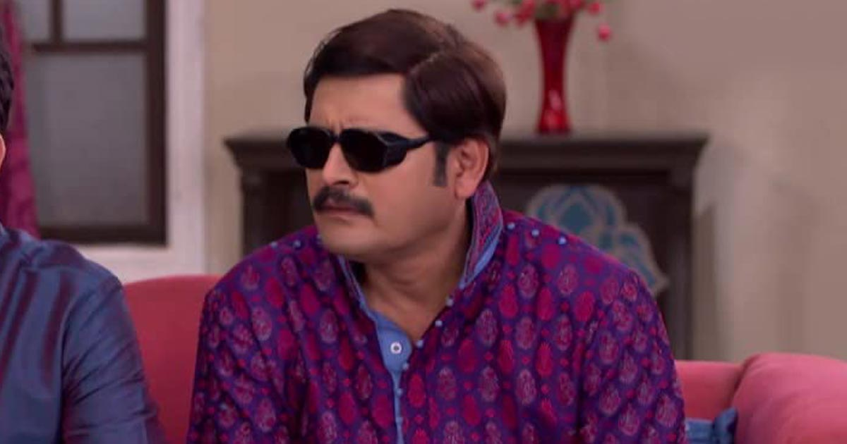 Rohitash Gour As Manmohan Tiwari In Bhabiji Ghar Par Hai