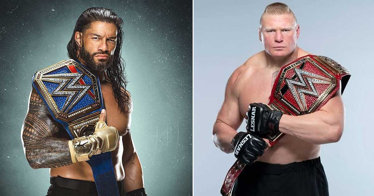 Roman Reigns Eyeing Brock Lesnar's Amazing Record In WWE