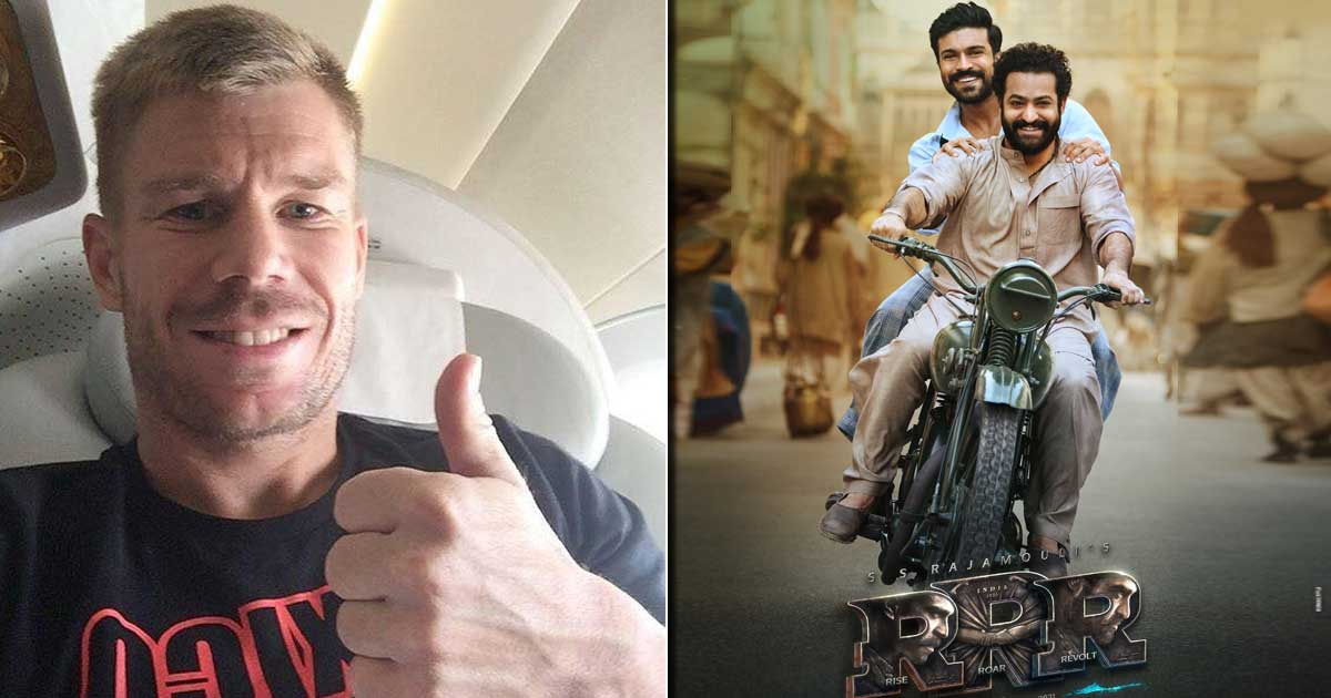 RRR: David Warner Is Nailing As Ram Charan In The New 'Morphed' Poster!