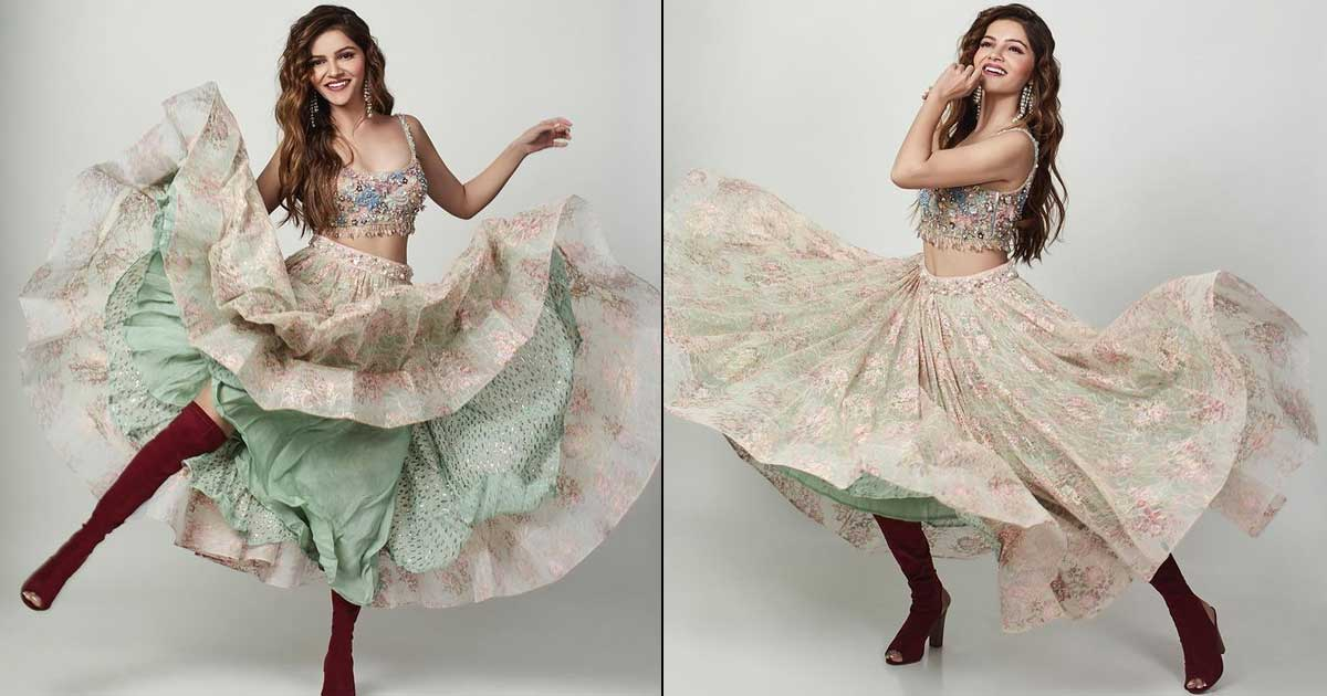 Rubina Dilaik Is Winning The Internet With Her Beautiful Dance Moves, See Pics