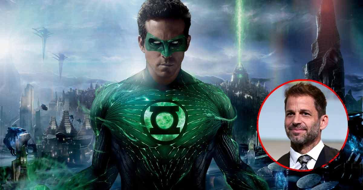 Ryan Reynolds Wants To Be SnyderVerse's Green Lantern?