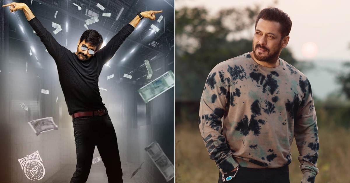 Salman Khan Eyes For Hindi Remake Of Ravi Teja's Telugu Film Khiladi?
