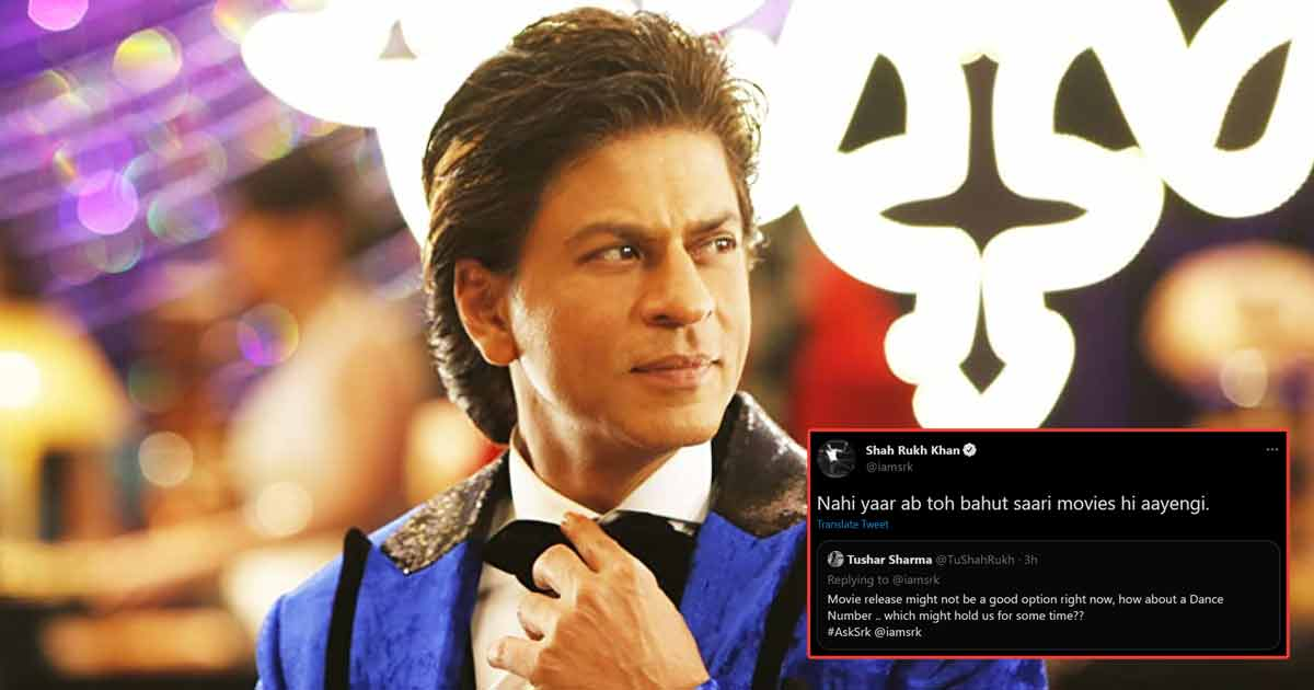 Shah Rukh Khan Confirms Bringing Lots Of Movies! So, Fasten Your Seatbelts, Read On