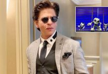 Shah Rukh Khan wishes parents the most beautiful moments with 'lil naughty munchkins'