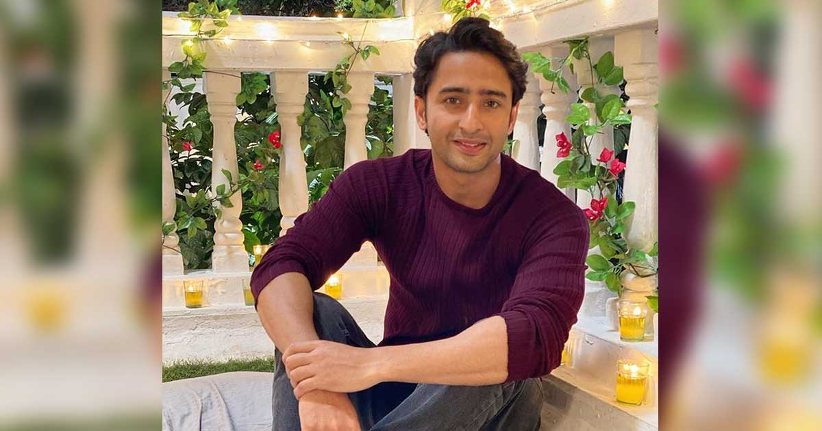 Shaheer Sheikh loves cycling around on sets between shots