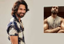 Shahid Kapoor flaunts beefed-up physique