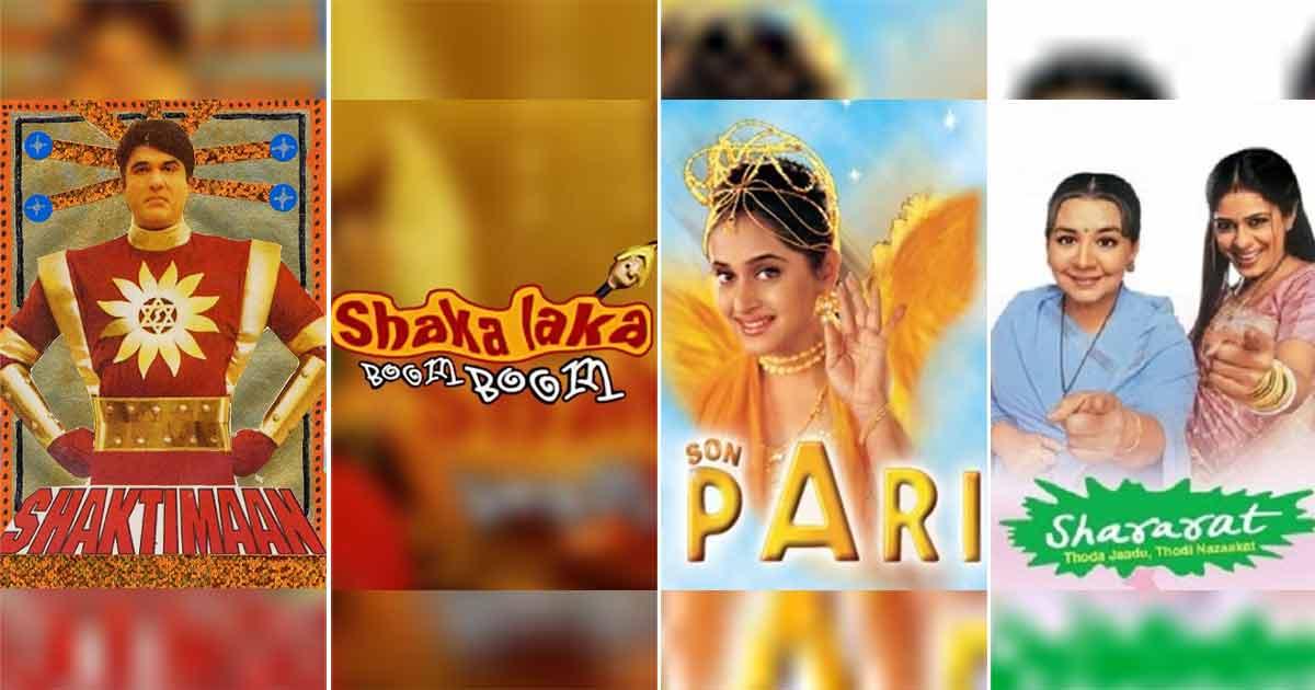 Check Out The IMDb Ratings Of Shaktimaan, Shaka Laka Boom Boom, Son Pari & Shararat