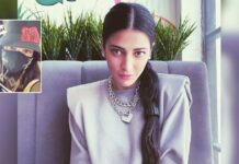 Shruti Haasan steps out of home after three months