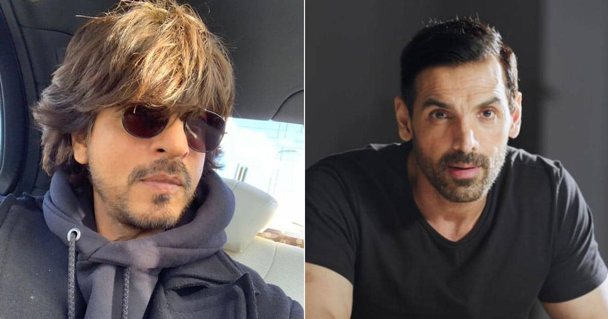 Shah Rukh Khan Uses His Pathan Co-Star John Abraham As A Funny Reference In His Reply