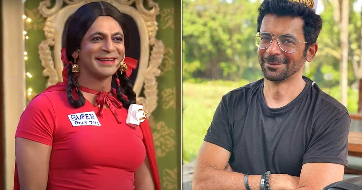 Sunil Grover's Son didn't like to play Gutthi in the Kapth Sharma Show, That's Why!