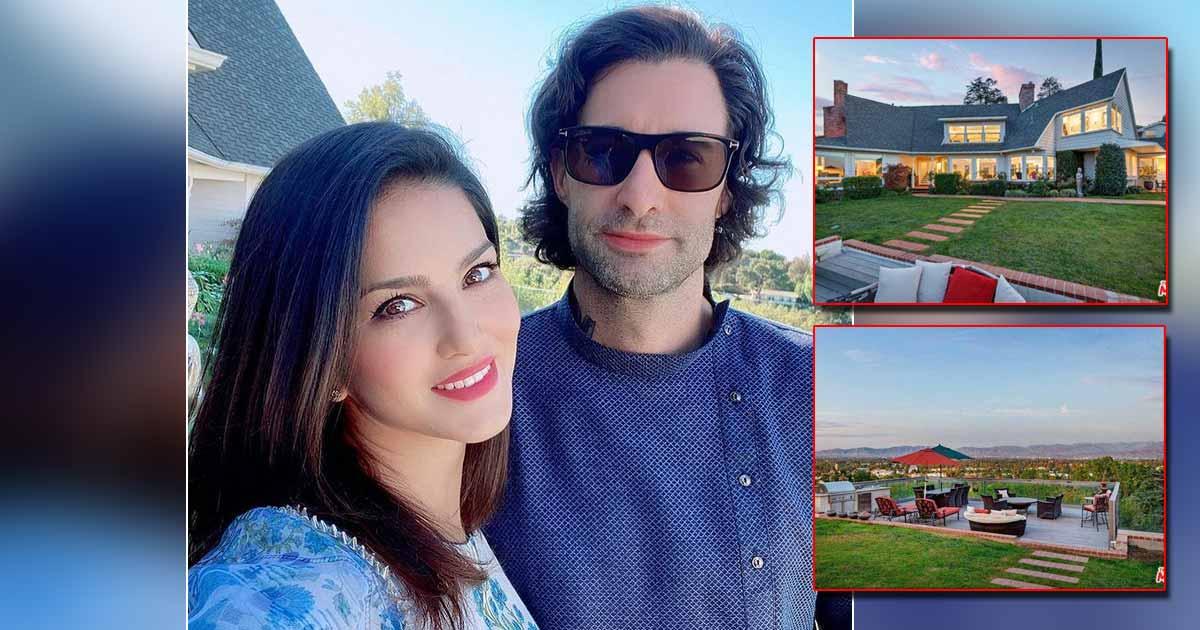 Sunny Leone & Husband Daniel Weber Put Their Massive LA Mansion On Sale, See Inside Pictures!