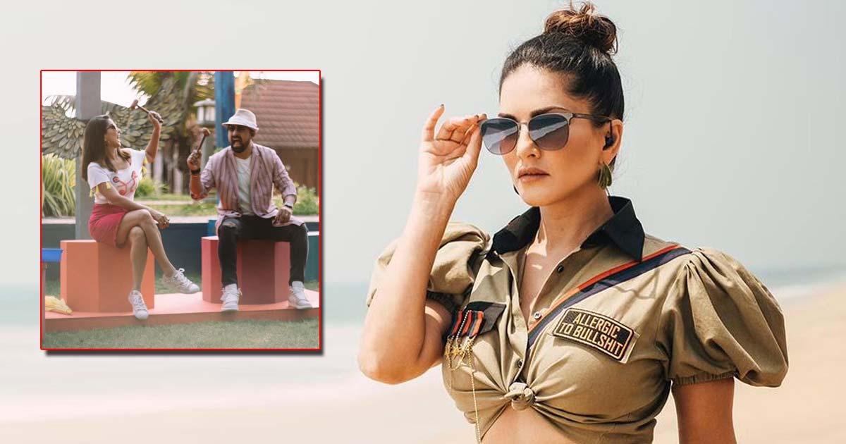 Sunny Leone Plays 'Whack A Mole' With Rannvijay Singha