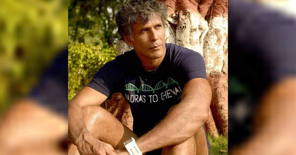 Super-fit Milind Soman flaunts shirtless beef in new post (Lead)