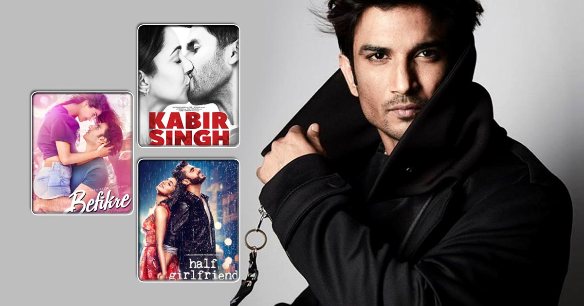 Sushant Singh Rajput Rejected 5 Films – Kabir Singh, Befikre & The One With Kriti Sanon Will You Surprised!