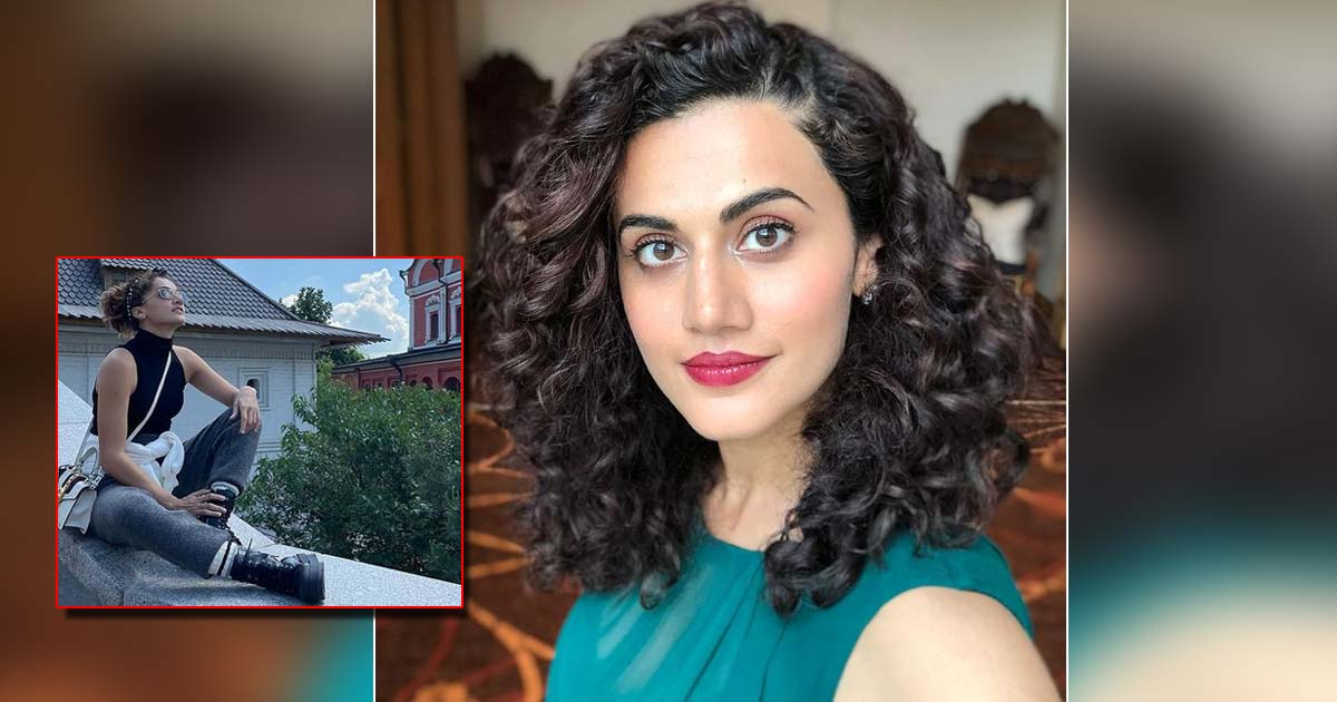 Taapsee Pannu Adds Soothness To Moscow's Morning Mist, Read On