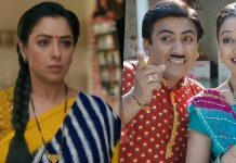 Taarak Mehta Ka Ooltah Chashmah Takes The No 1 Spot This Week, Anupamaa Follows Lead With Reality Shows Filling The Next Two Positions